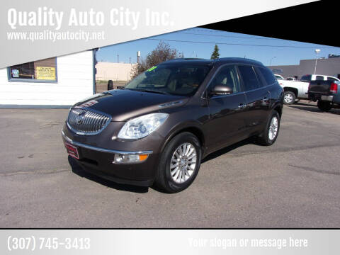 2008 Buick Enclave for sale at Quality Auto City Inc. in Laramie WY