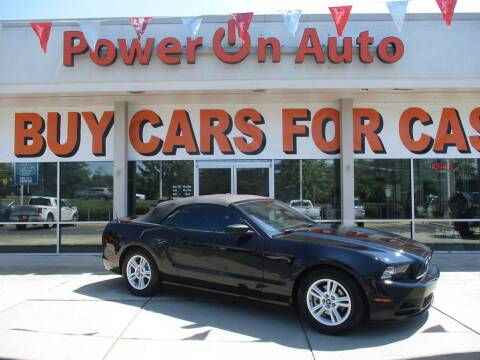 2014 Ford Mustang for sale at Power On Auto LLC in Monroe NC