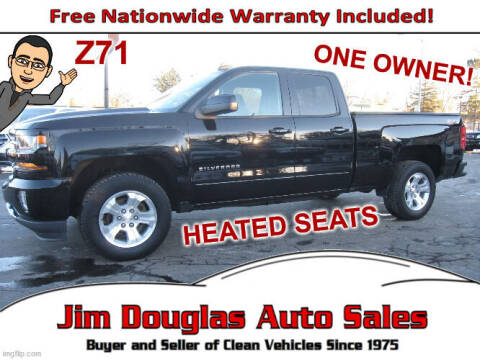 2016 Chevrolet Silverado 1500 for sale at Jim Douglas Auto Sales in Pontiac MI
