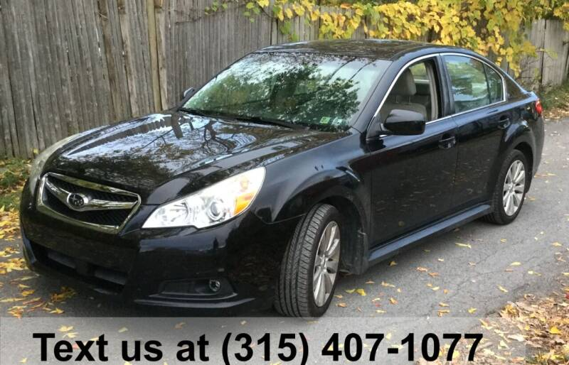 2012 Subaru Legacy for sale at Pete Kitt's Automotive Sales & Service in Camillus NY