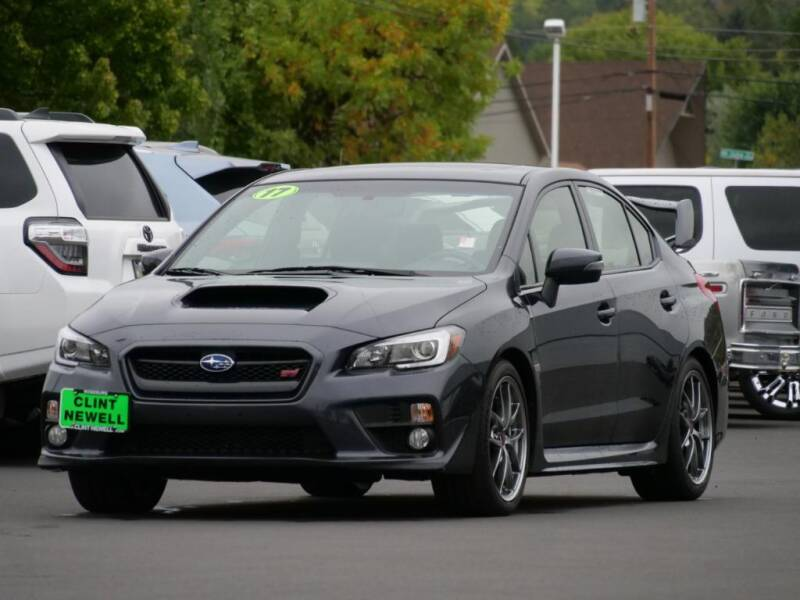 2017 Subaru WRX for sale at CLINT NEWELL USED CARS in Roseburg OR
