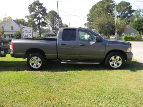 2002 Dodge Ram Pickup 1500 for sale at SeaCrest Sales, LLC in Elizabeth City NC