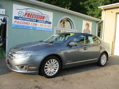 2012 Ford Fusion Hybrid for sale at Precision Automotive Group in Youngstown OH