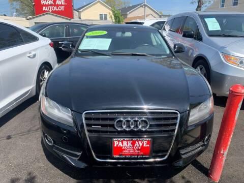 2009 Audi A5 for sale at Park Avenue Auto Lot Inc in Linden NJ