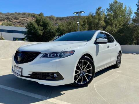 2015 Acura TLX for sale at Allen Motors, Inc. in Thousand Oaks CA