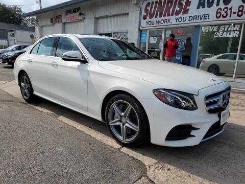 2017 Mercedes-Benz E-Class for sale at Sunrise Auto Outlet in Amityville NY