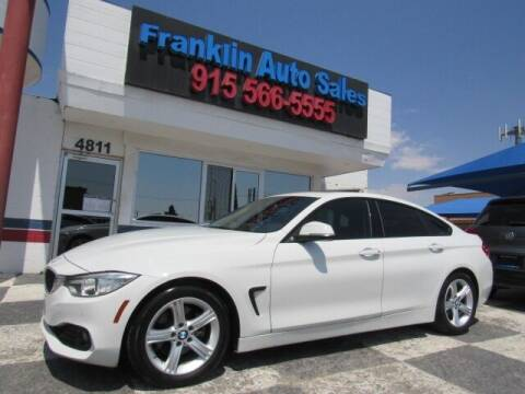 2015 BMW 4 Series for sale at Franklin Auto Sales in El Paso TX