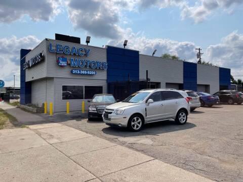 2014 Chevrolet Captiva Sport for sale at Legacy Motors in Detroit MI