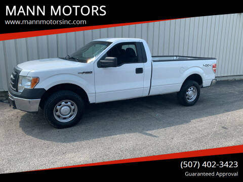 2011 Ford F-150 for sale at MANN MOTORS in Albert Lea MN