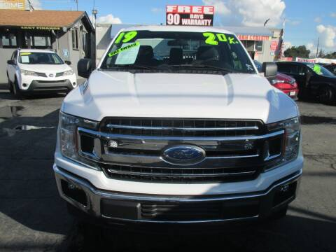 2019 Ford F-150 for sale at Quick Auto Sales in Modesto CA