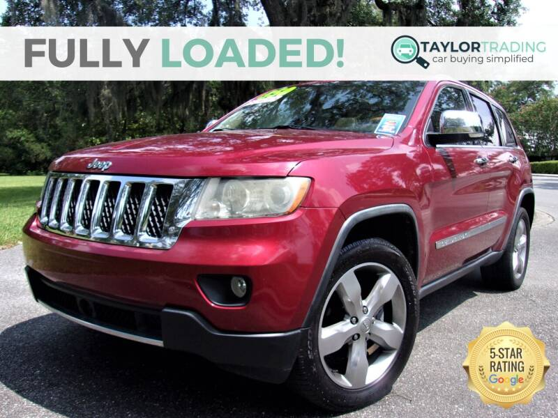 2012 Jeep Grand Cherokee for sale at Taylor Trading in Orange Park FL