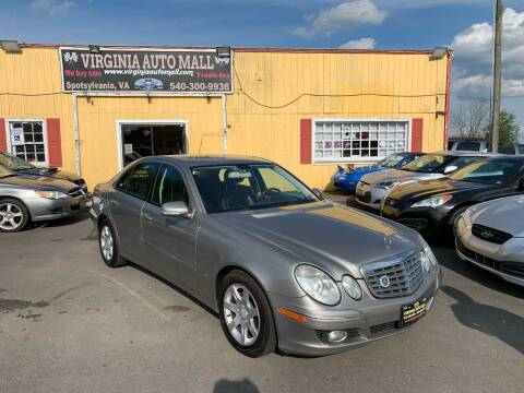 2008 Mercedes-Benz E-Class for sale at Virginia Auto Mall in Woodford VA