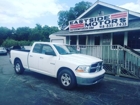 2009 Dodge Ram Pickup 1500 for sale at EASTSIDE MOTORS in Tulsa OK