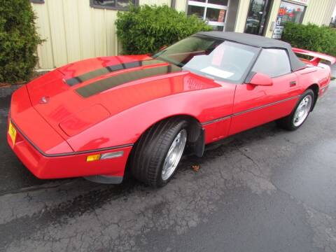 1990 Chevrolet Corvette for sale at Toybox Rides in Black River Falls WI