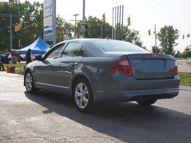 2012 Ford Fusion SE 4dr Sedan - Chelsea MI