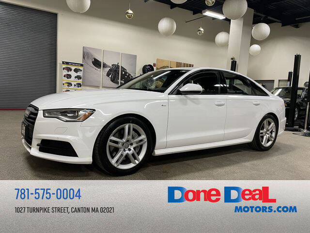 2016 Audi A6 for sale at DONE DEAL MOTORS in Canton MA