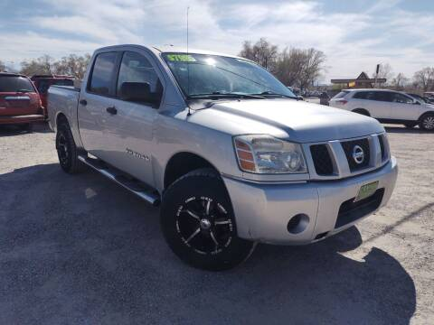 2007 Nissan Titan for sale at Canyon View Auto Sales in Cedar City UT