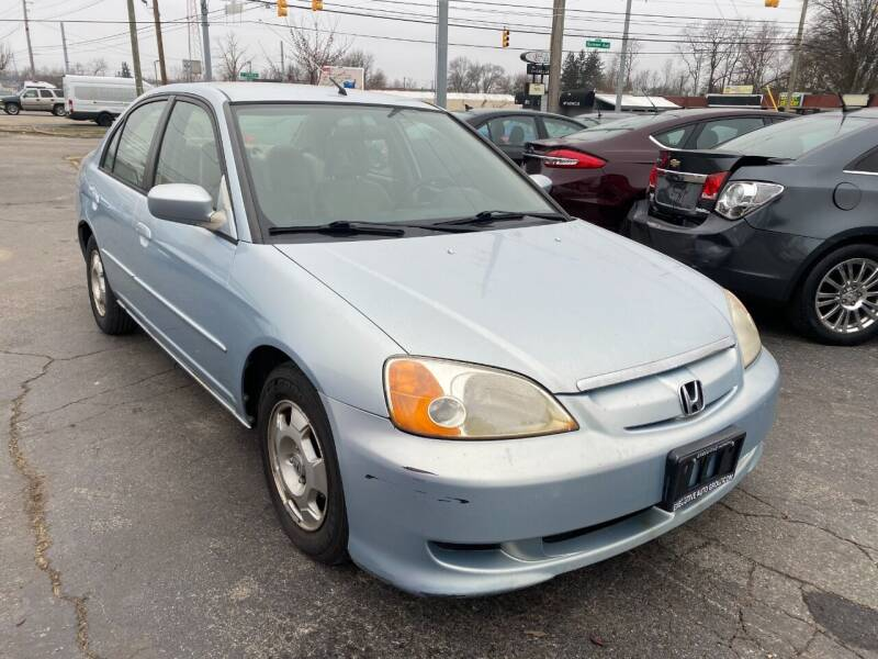 2003 Honda Civic for sale at A Class Auto Sales in Indianapolis IN