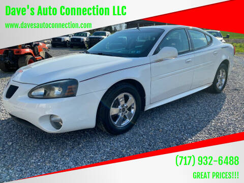 2005 Pontiac Grand Prix for sale at Dave's Auto Connection LLC in Etters PA