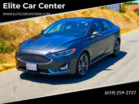 2019 Ford Fusion for sale at Elite Car Center in Spring Valley CA