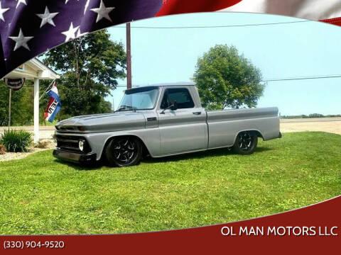 1965 Chevrolet C/K 10 Series for sale at Ol Man Motors LLC in Louisville OH