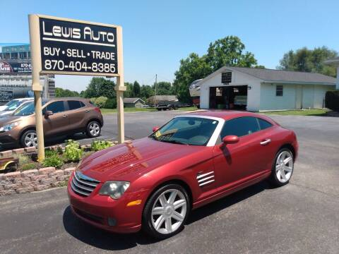 2004 Chrysler Crossfire for sale at LEWIS AUTO in Mountain Home AR