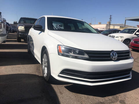 2015 Volkswagen Jetta for sale at Town and Country Motors in Mesa AZ