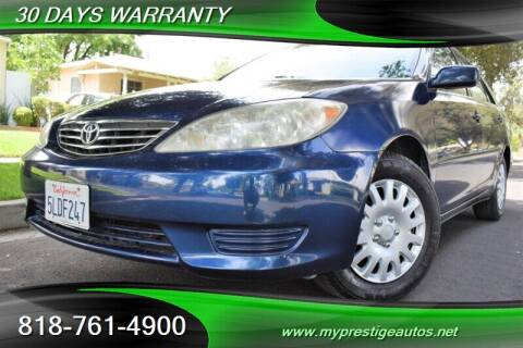 2005 Toyota Camry for sale at Prestige Auto Sports Inc in North Hollywood CA