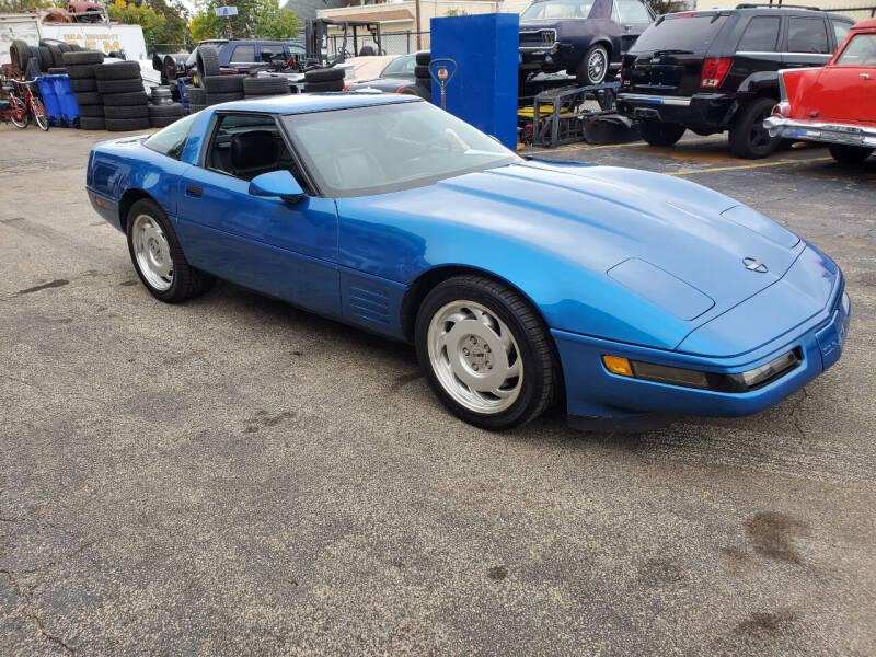 1991 Chevrolet Corvette for sale at C & C AUTO SALES in Riverside NJ