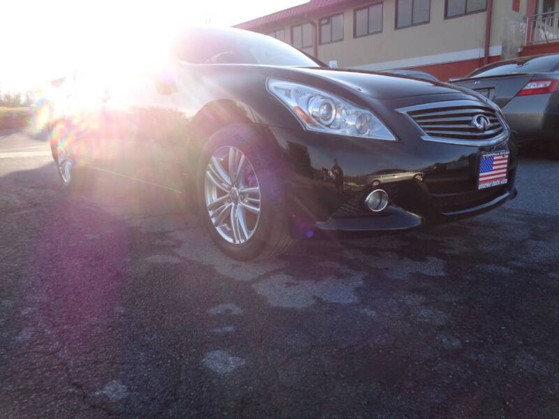 2013 Infiniti G37 Sedan for sale at Quickway Exotic Auto in Bloomingburg NY