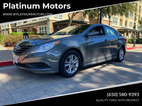 2014 Hyundai Sonata for sale at Platinum Motors in San Bruno CA