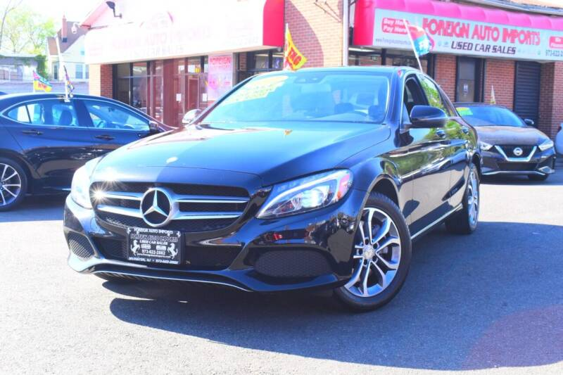 2017 Mercedes-Benz C-Class for sale at Foreign Auto Imports in Irvington NJ