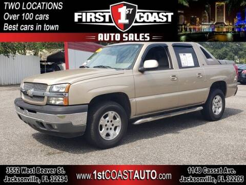 2005 Chevrolet Avalanche for sale at 1st Coast Auto -Cassat Avenue in Jacksonville FL