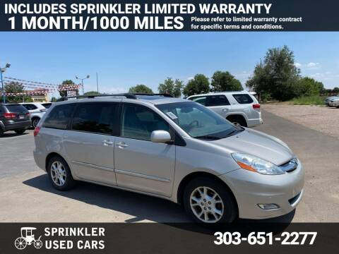 2006 Toyota Sienna for sale at Sprinkler Used Cars in Longmont CO