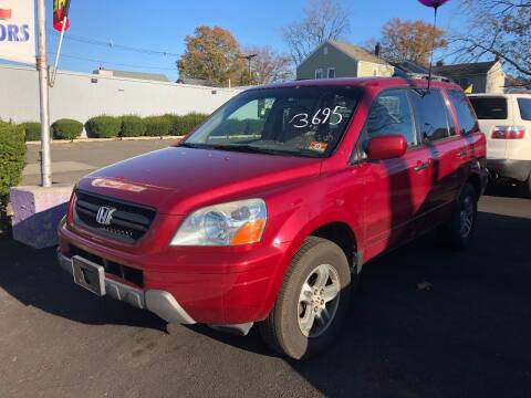 2004 Honda Pilot for sale at BIG C MOTORS in Linden NJ