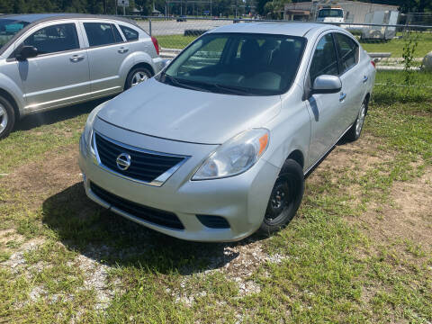 2014 Nissan Versa for sale at Nash's Auto Sales Used Car Dealer in Milton FL