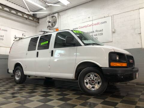 2008 GMC Savana Cargo for sale at County Car Credit in Cleveland OH