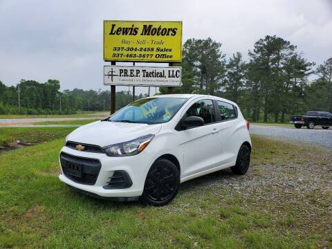 2016 Chevrolet Spark for sale at Lewis Motors LLC in Deridder LA
