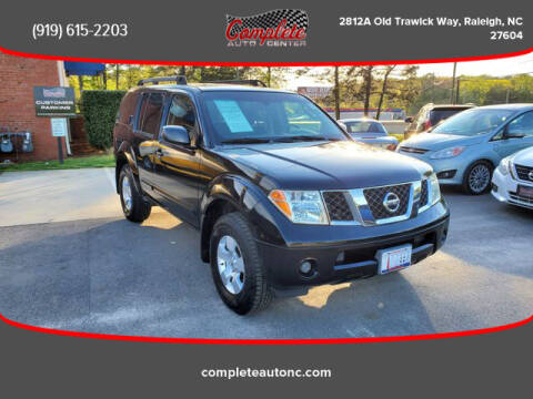 2007 Nissan Pathfinder for sale at Complete Auto Center , Inc in Raleigh NC