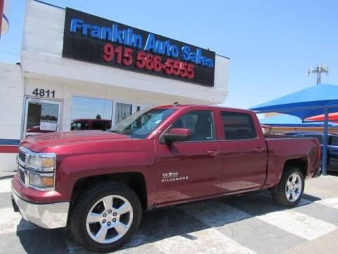 2014 Chevrolet Silverado 1500 for sale at Franklin Auto Sales in El Paso TX