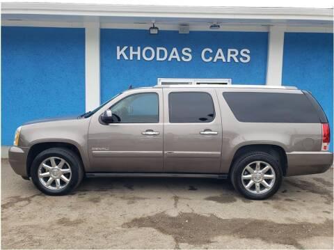 2013 GMC Yukon XL for sale at Khodas Cars in Gilroy CA