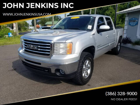 2012 GMC Sierra 1500 for sale at JOHN JENKINS INC in Palatka FL