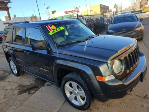 2014 Jeep Patriot for sale at Sanaa Auto Sales LLC in Denver CO