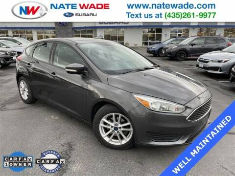 2015 Ford Focus for sale at NATE WADE SUBARU in Salt Lake City UT