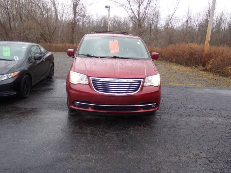 2012 Chrysler Town and Country for sale at Pool Auto Sales Inc in Spencerport NY