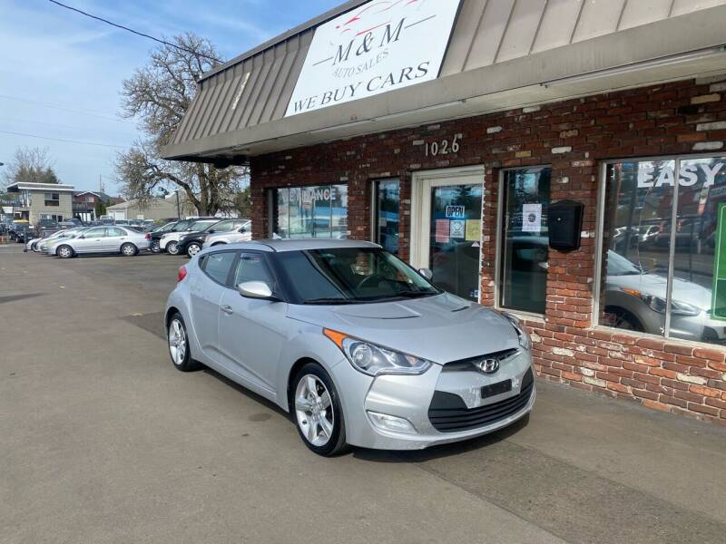 2012 Hyundai Veloster for sale at M&M Auto Sales in Portland OR