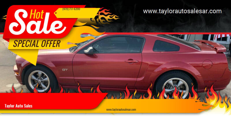 2006 Ford Mustang for sale at Taylor Auto Sales in Springdale AR