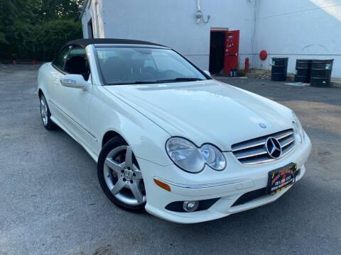 2009 Mercedes-Benz CLK for sale at JerseyMotorsInc.com in Teterboro NJ