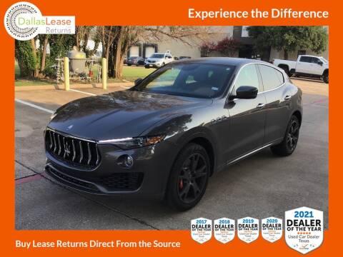 2021 Maserati Levante for sale at Dallas Auto Finance in Dallas TX
