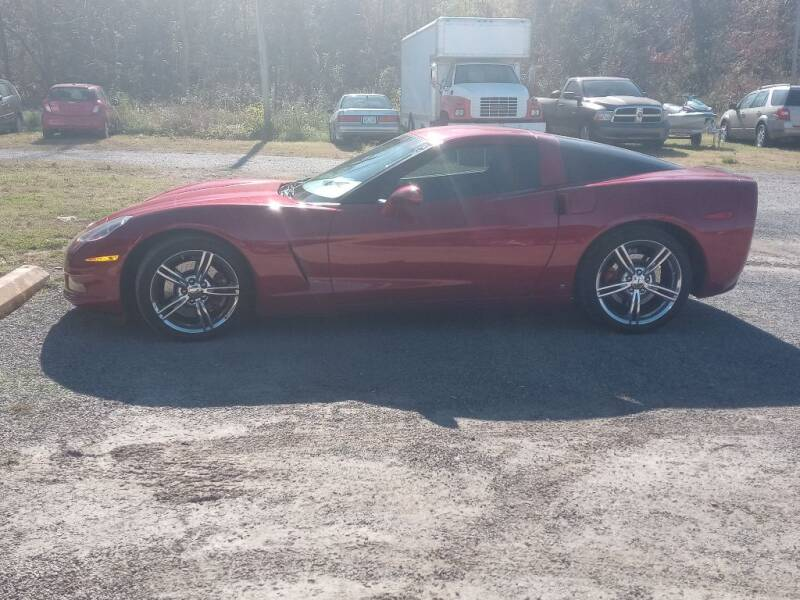 2008 Chevrolet Corvette for sale at Page Used Cars in Muskogee OK